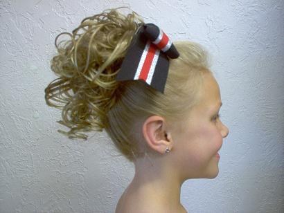 Cheerleader hairpieces