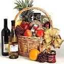 This philanthropic basket of wine, fruit, and gourmet food is both a superlative culinary and aesthetic gift.