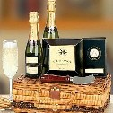 Champagne and Caviar Gift Basket. Indulge with a luxurious gift of champagne!