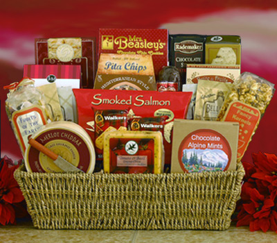 Food Gift Basket - Northwood cheese & snacks delivered