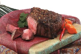 Top sirloin steaks delivered