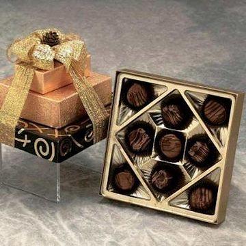 Chocolate Truffle Tower Gift