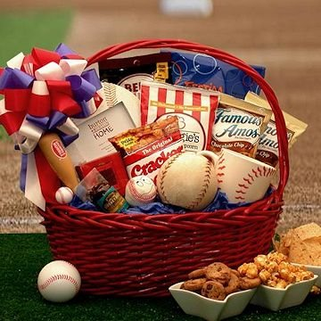 American Baseball Gift Basket