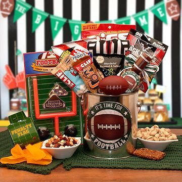 It's Football Time Gift Basket!