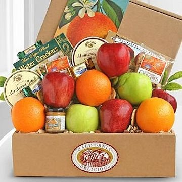Fresh Fruit & Cheese Box