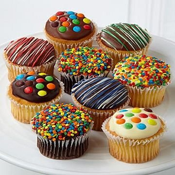 Chocolate Covered Cupcakes