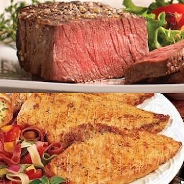 Send the best this year with a duo of delicious dinners.