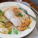 Stuffed Sole with Scallops & Crab Meat