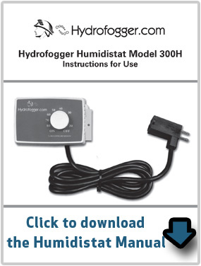 Humidistat Manual Download by Hydrofogger
