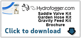 Saddle Valve, Garden Hose, Gravity Feed Kit Brochure