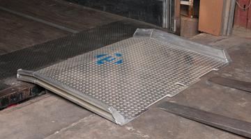Loading dock equipment aluminum dock boards all aluminum dock board model atd sciox Gallery