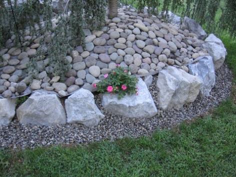 Decorativee Rock and Stone