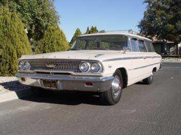 Dougs Vintage Trailers 1963 Ford Station Wagon