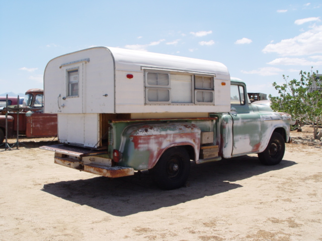 1960 Alaskan Camper With Truck Not For Sale Props Rented Extra