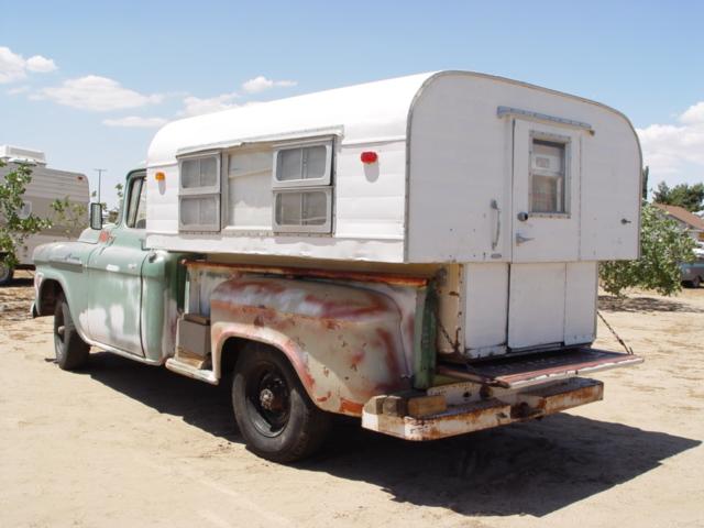 DOUGS VINTAGE TRAILERS - 1960 Alaskan camper