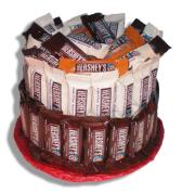 Hershey Candy Cake-Candy Gift