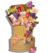 Layers Birthday Gift Baskets Alberta