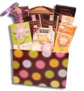 Pastels Birthday Gift Basket