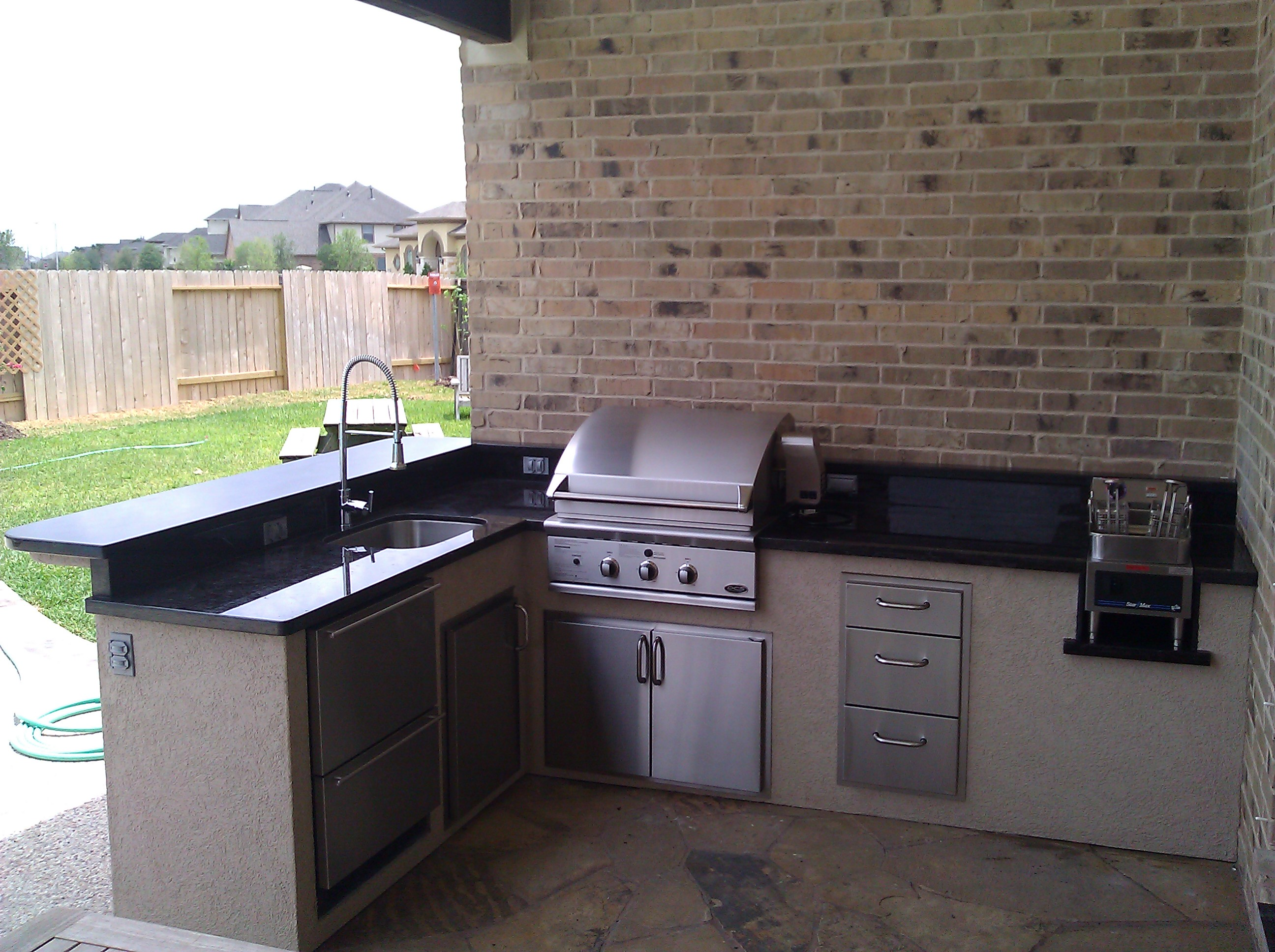Outdoor Kitchens Houston Island Outdoor Kitchens In