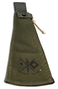olive drab Canvas sheath