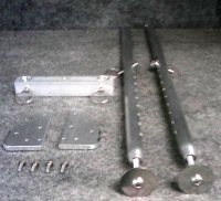 Gold Well Sluice Rear Leg Kit