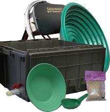 Gold Magic 12E Spiral Panning Machine Kit