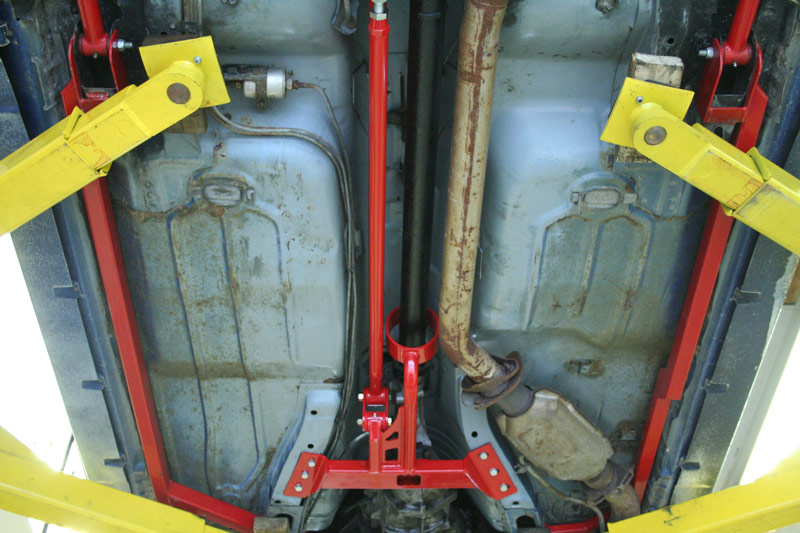 82-92 Camaro/Firebird Tunnel Mounted Torque Arm- Fits ...