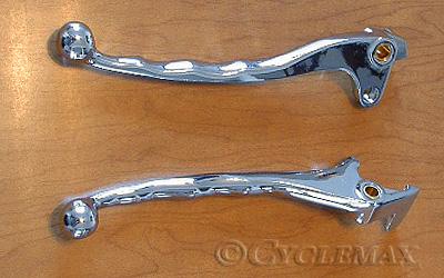GL1200 chrome levers