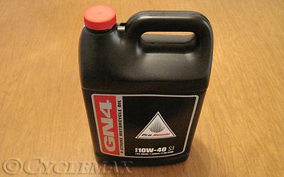 honda gn oil