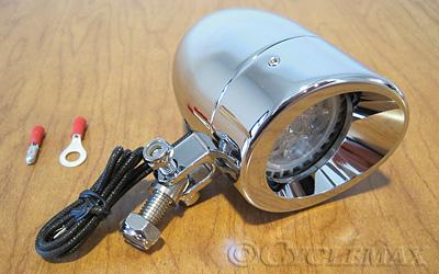 LED Chrome Bullet Light