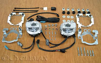 GL1800 Tridium Rectangular LED Fog Lights