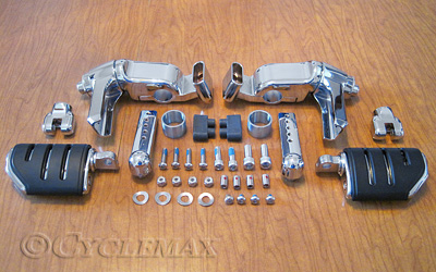 Ergo III Cruise Mounts with Trident Dually Pegs