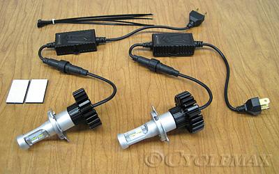 GL1500 Pathfinder LED H4 Headlight Bulb Kit
