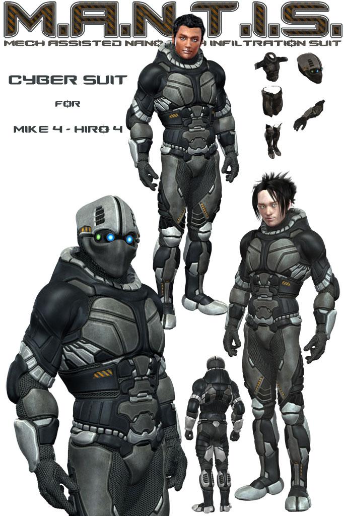Xurge 3D Corporation Cyber Suit For M4 H4