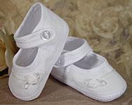 Girls Cotton Batiste Shoe