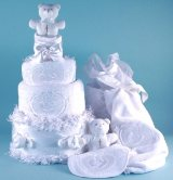 Christening Angel Cake