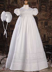 Girls Gown W/Hand Embroidery