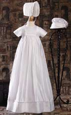 Dupioni Silk Family Heirloom Gown W Two Hats