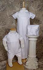 Cotton Convertable Christening Set
