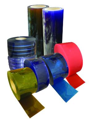 Bulk Rolls of PVC Strip Material