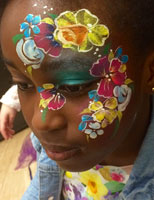 London based professional face painters