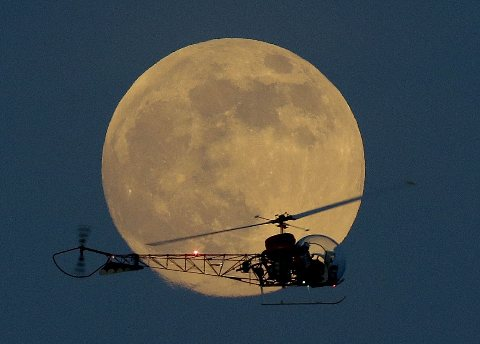 2013 Top Ten Super Moon Photo in the World!