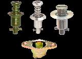 Camloc 2600 2700 stud retainer receptacle tools 1/4 turn fasteners