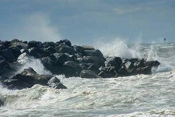 Jetty Rock Seawall