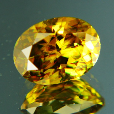 gemstone photo Madagascan Sphene 7.10 carat