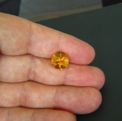 gemstone photo Citrine 4.07 carat