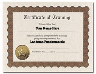 Landman Fundamentals Certificate of Completion