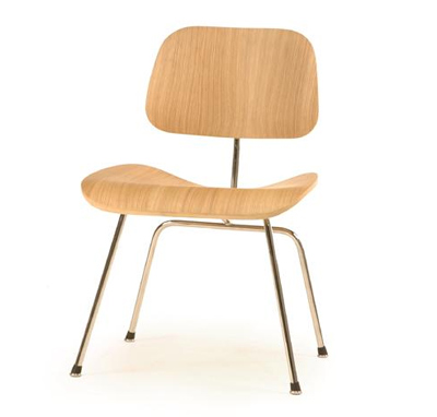 Modern HQ   Your Modern Headquarters   Eames Style Molded Plywood Dining  Chair (Metal Legs)
