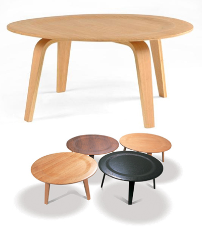 Modern Hq Your Headquarters Eames Style Bent Plywood Coffee Table