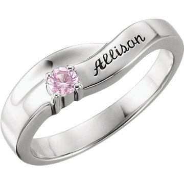 Family Mother Ring with Birthstones